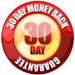 Customer Home Nail 30 Day Money Back Guarantee Seal
